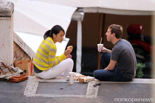 Марк Цукерберг наслаждается медовым месяцем в Италии