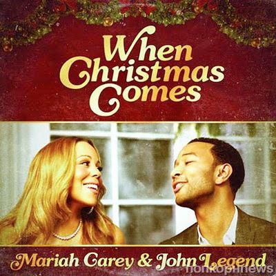 "Клип  Мэрайи Кэри и Джона Леджента на песню ""When Christmas Comes"""