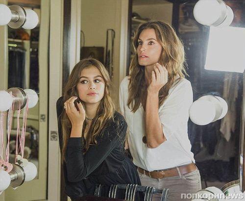 14-летняя дочь супермодели Синди Кроуфорд снялась для Vogue