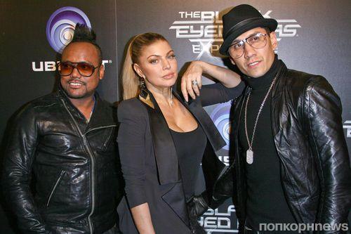 Ферги и участники группы The Black Eyed Peas о своих планах