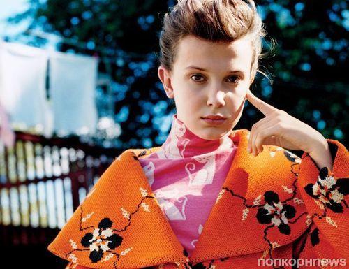 Звезда «Очень странных дел» Милли Бобби Браун снялась в фотосете для Teen Vogue