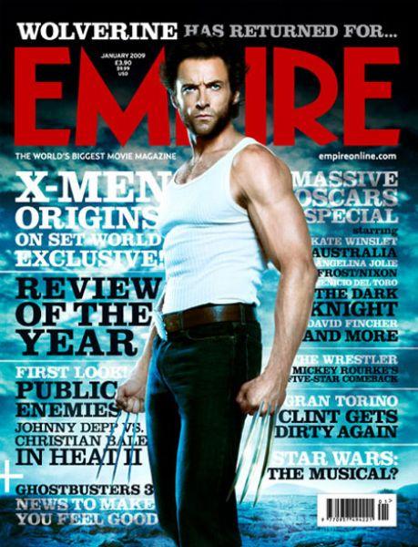 Хью Джекман в журнале Empire. Январь 2009