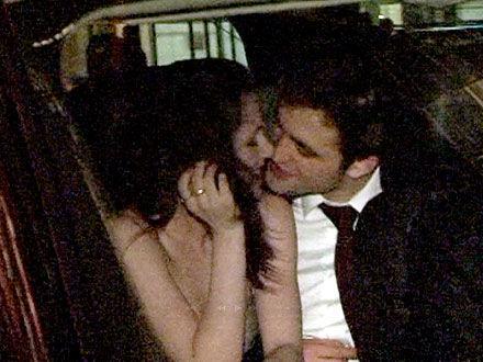 Роберт Паттинсон и Кристен Стюарт: поцелуй в Нью-Йорке
