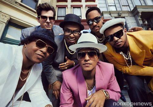 Uptown Funk Бруно Марса стал 13-м «бриллиантовым» синглом за всю историю музыки