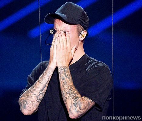 Джастин Бибер расплакался на сцене MTV VMA 2015