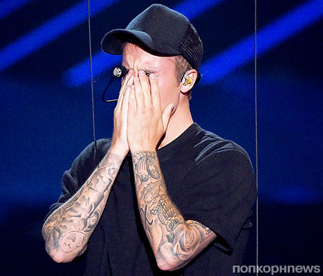 Джастин Бибер объяснил, почему расплакался на сцене MTV Video Music Awards 2015