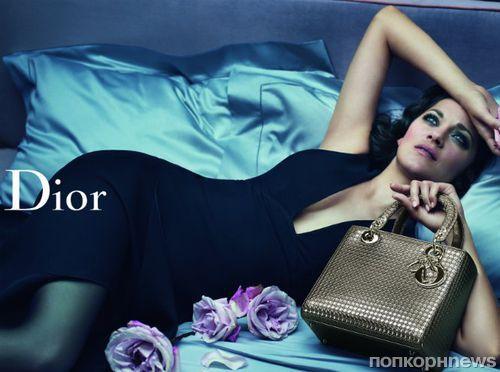 Марион Котийяр снялась в новой рекламной кампании Lady Dior
