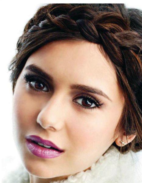 Нина Добрев в журнале Elle Канада. Сентябрь 2011