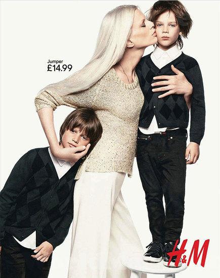 Праздничная рекламная кампания H&M 2011