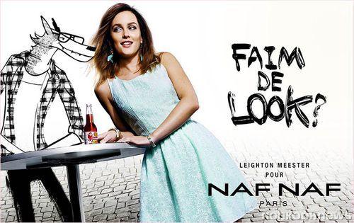 Лейтон Мистер в весенне-летней рекламной кампании Naf Naf