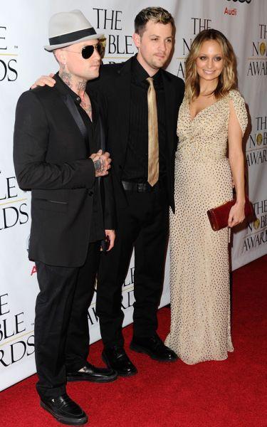 Николь Ричи и братья Мэдден на церемонии Noble Awards