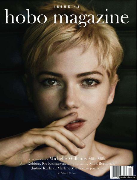 Мишель Уильямс в журнале Hobo №13