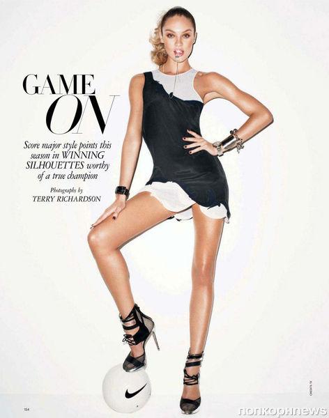 Кэндис Свэйнпоул в журнале Harper's Bazaar. Февраль 2012