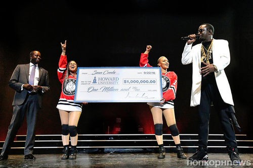 Рэпер P Diddy основал стипендию для студентов