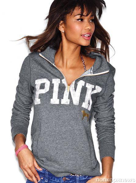Шанель Иман в новом каталоге Victoria's Secret Pink. Весна 2012