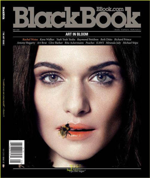 Рэйчел Вайс в журнале Blackbook. Май 2009