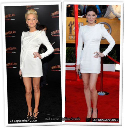 Fashion battle: Эмбер Херд и Дженнифер Карпентер