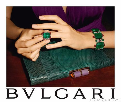 Рекламная кампания Bvlgari. Осень / зима 2013-2014
