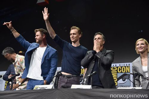 Фото: Крис Хемсворт, Том Хиддлстон и другие звезды Marvel на Comic Con 2017