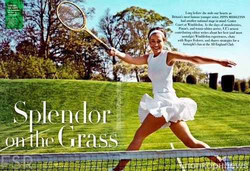 Пиппа Миддлтон в журнале Vanity Fair. Июль 2013