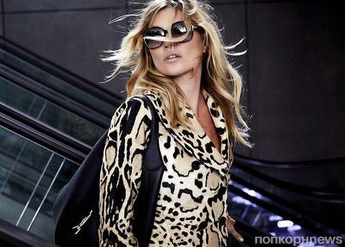 Кейт Мосс в рекламной кампании  Gucci Jackie Bag 2014