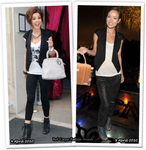 Fashion battle: Шерил Коул и Оливия Уайлд