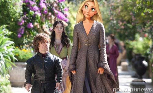 Фото: как выглядела бы «Игра престолов» с диснеевскими принцессами