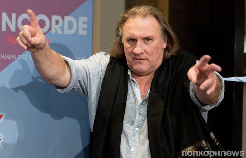 Жерар Депардье задержан за вождение в нетрезвом виде