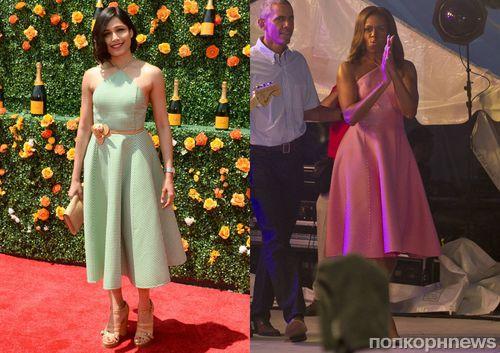 Fashion battle: Фрида Пинто и Мишель Обама