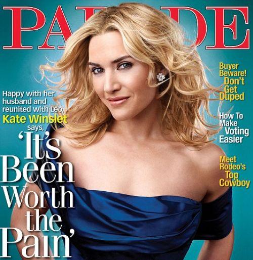 Кейт Уинслет в журнале Parade. Декабрь 2008