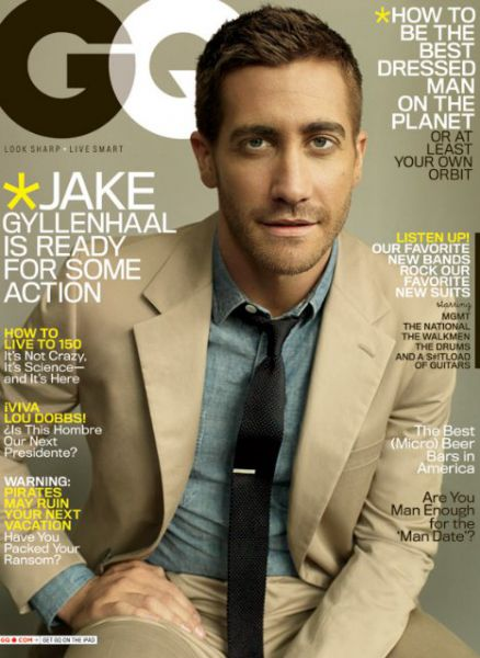 Джейк Джилленхол для журнала GQ. Май 2010