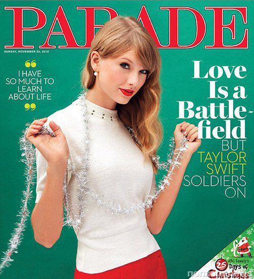 Тейлор Свифт в журнале Parade. Ноябрь 2012