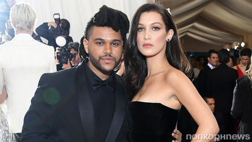Снова вместе: Беллу Хадид и The Weeknd застали за поцелуями в Каннах