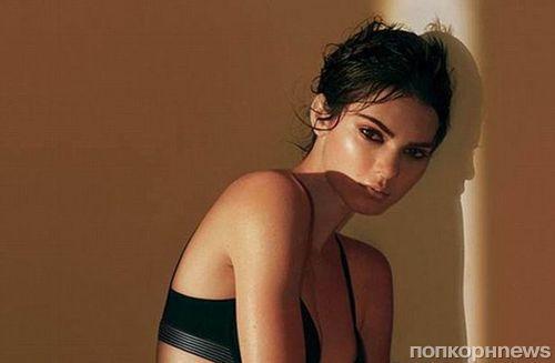 Кендалл Дженнер снялась в рекламе нижнего белья Calvin Klein