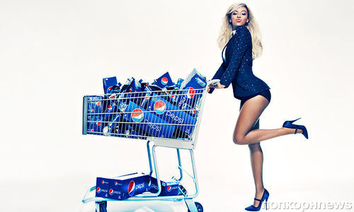 Бейонсе сотрудничает с Pepsi