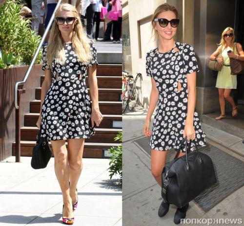 Fashion battle: Пэрис Хилтон и Миранда Керр
