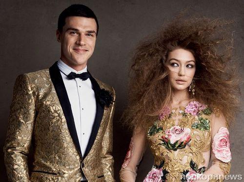 Джиджи Хадид снялась для Vogue в компании звезд Бродвея
