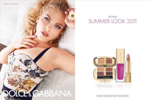 Первый взгляд: Скарлетт Йоханссон в рекламе косметики Dolce & Gabbana