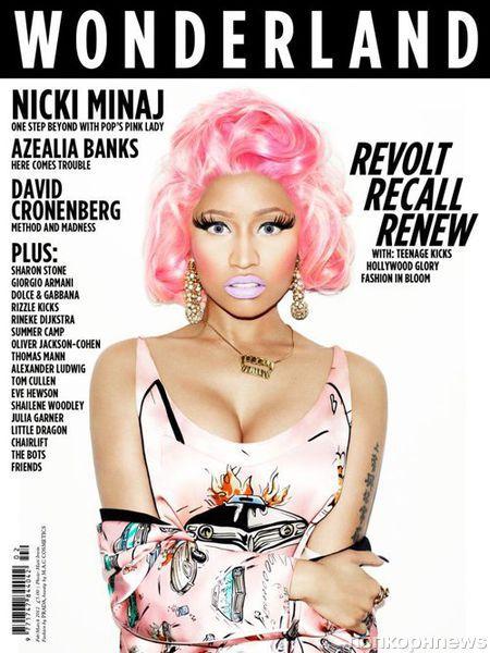 Ники Минаж в журнале Wonderland. Февраль / март 2012