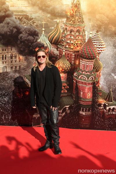Брэд Питт на открытии ММКФ-2013 в Москве