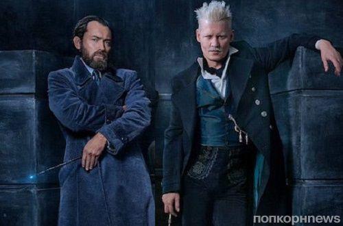 Первое фото: Джонни Депп, Джуд Лоу и другие в сиквеле «Фантастических тварей»