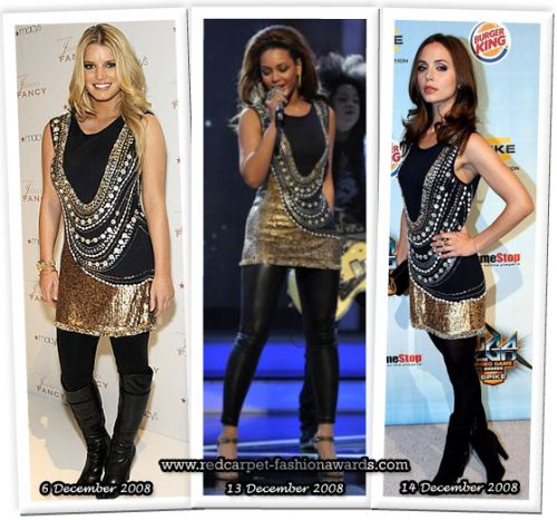 Fashion battle: Джессика Симпсон, Бейонсе и Элиза Душку