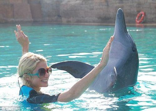 Пэрис Хилтон отдыхает в Дубаи