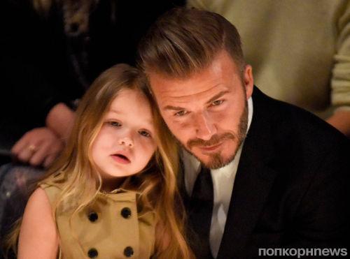 Виктория Бекхэм запатентовала имя пятилетней дочери Харпер в качестве торговой марки