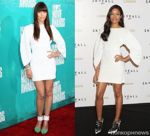 Fashion Battle: Джессика Бил и Наоми Харрис