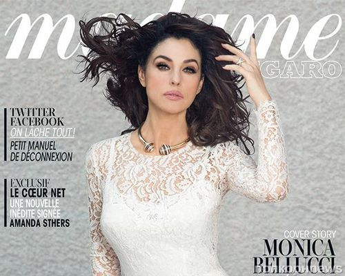Моника Беллуччи в журнале Madame Figaro. Июль 2013