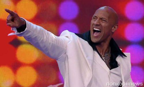 Видео: Дуэйн «Скала» Джонсон демонстрирует танцевальные таланты