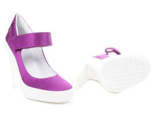 Интересные штучки: туфли на высоком каблуке от Puma