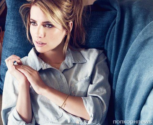 Эмма Робертс в рекламной кампании Levi`s и украшений BaubleBar