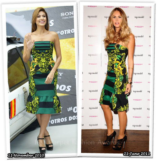 Fashion Battle: Ева Мендес и Элль Макферсон